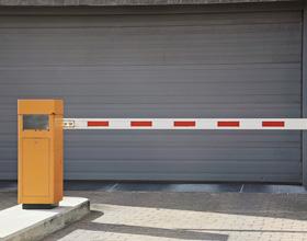 barriere automatique parking voiture