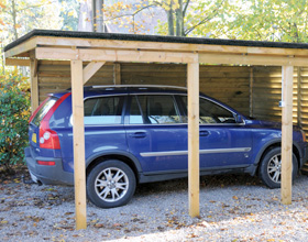 carport garage voiture