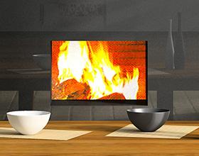 insert cheminee chauffage bois