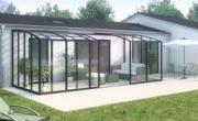 veranda bioclimatique ossature bois