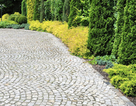 pavage pavés dallage dalles cours allee terrasse