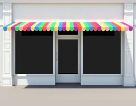 vitrine devanture magasin